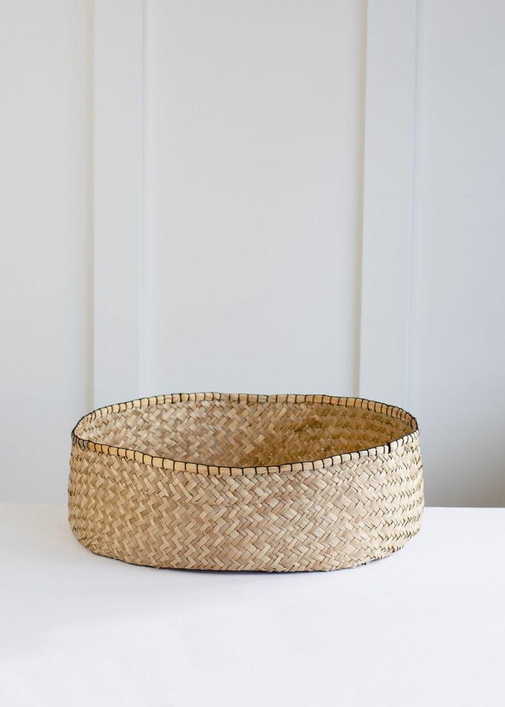 Blanket Stitch Basket - Large